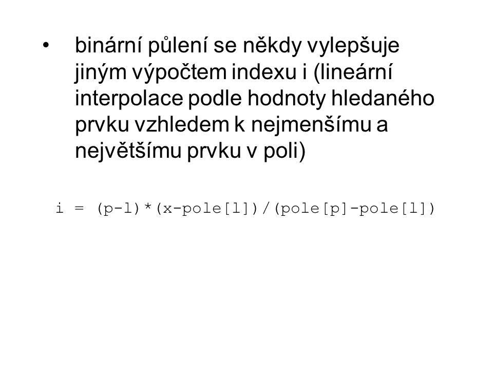 i = (p-l)*(x-pole[l])/(pole[p]-pole[l])